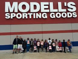Modells Bysc Soccer Players Get New Cleats From Modell U0027s