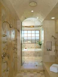 Modern Tile Bathroom Do It Yourself Installing A Tile Shower Homesfeed