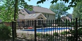Fence Landscaping Ideas Pool Fence Landscaping Ideas Landscape Ideas