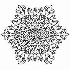 paper snowflake templates