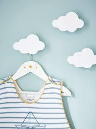 patère chambre bébé garçon patère nuage par lot de 3 blanc bébé patère nuage