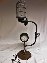 buy a custom steampunk machine age explosion proof desk lamp