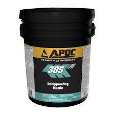 Apoc Elastomeric Roof Coating by Apoc 305 Dampproofing Mastic