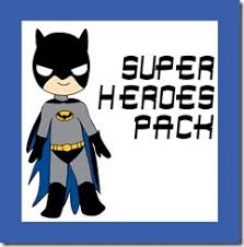 free superhero worksheets for kids