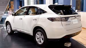 lexus harrier 2014 interior 2016 toyota harrier review and information united cars united cars