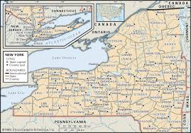 Erie County Map Map Of State And County Maps Of New York
