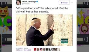 Donald Meme - donald trump and the western wall star in an unlikely twitter meme