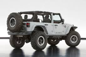 custom jeep white jeep and mopar reveal six new concept vehicles cartype