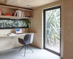 this prefab london backyard studio is as cool as a custom cottage