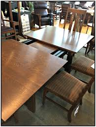 stickley furniture the highlands trestle table dining room