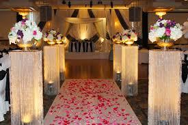 flower arrangements with lights event walkway floral arrangements suki s flowers