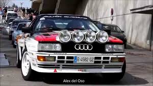 audi rally audi 80 quattro sport cup rally youtube