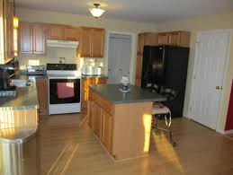 What Color To Paint Kitchen by Help What Color To Paint Kitchen With Oak Cabinets And Green Counters