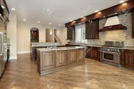 dark wood kitchen cabinets beautiful home design