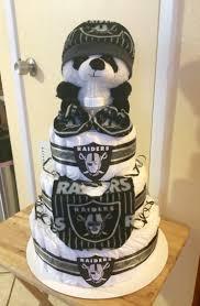 Raiders Baby Shower Cake My Cakes Pinterest Raiders Baby