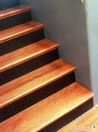 installing stair tread caps made by marzipan