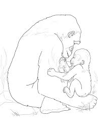 mommy and baby horse coloring pages coloring page of mom and baby