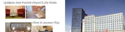 hotels near ljubljana joze pucknik airport lju