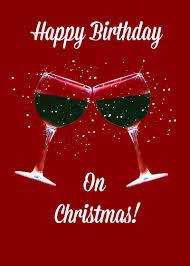 christmas birthday card happy birthday christmas card christmas
