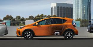 toyota company cars 2018 toyota prius c features
