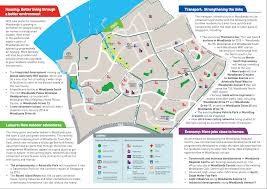 woodlands ura master plan 2013 official website bellewoods ec