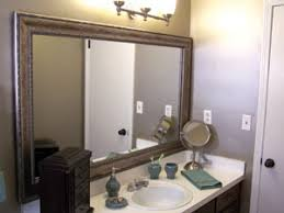 Frame For Bathroom Mirror by Do It Yourself Mirror Frames Extreme How To
