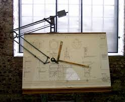Contemporary Drafting Table Drawing Board