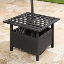 Patio Side Tables Small Patio Side Table With Umbrella Http Cielobautista