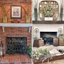 how to paint your outdated brick fireplace bless this nest