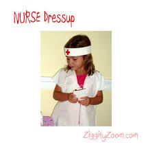 easy nurse costume or doctor costume to make ziggity zoom