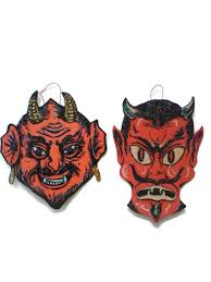 amazon com krampus christmas ornament decoration red devil evil