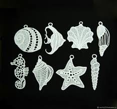 buy a marine style a set of christmas ornaments on livemaster