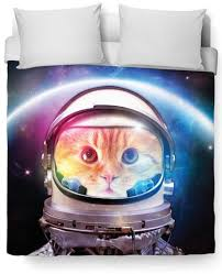 space cat duvet cover u2013 cats are so cool