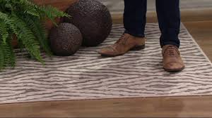 scott living diamond back indoor outdoor rug on qvc youtube