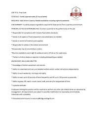 Prep Cook Resume Sample by Grill Chef Cover Letter