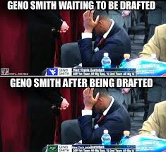 Geno Smith Meme - nfl memes on twitter geno smith s reaction to being drafted by
