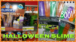 halloween drinks kid friendly new elmer u0027s glue and halloween slime youtube