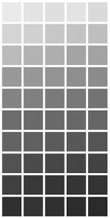 color shades of grey light grey vs dark grey and what the meaning of that could be in