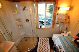 interiors of tiny homes tiny house on wheels with indoor outdoor entertaining spaces