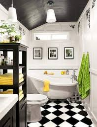 black and white tiled bathroom ideas black and white bathroom in a stunning industrial style home in