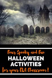 Halloween Poems Scary Four Ela Halloween Activities Fun U0026 Easy Eb Academic Camps