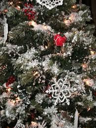 tree bead garland lights decoration