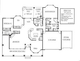 Sample Floor Plan Sample Floor Plans Prescott Builders Of Az Llc