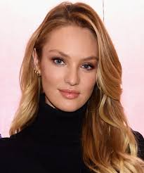 hair style giving birth candice swanepoel shows off toned bikini body 3 months after