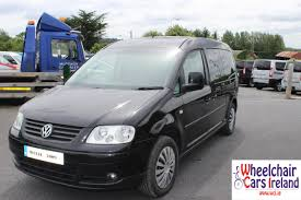 volkswagen caddy 2005 wheelchair cars ireland wheelchair cars glasson wheelchair