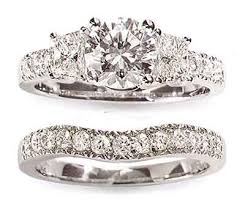 diamond wedding ring sets platinum and diamond wedding ring sets the wedding