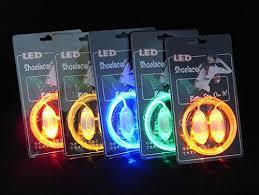 led shoelaces glowpro led shoelaces glow in the neon rainbow colors are