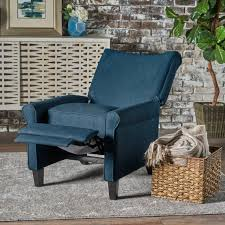 Fabric Recliner Chair Charlene Traditional Fabric Recliner Chair Gdf Studio