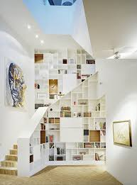 Small Space Stairs - design the under stairs storage effectively to maximize the looks