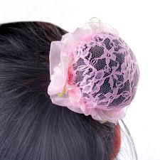 hair nets for buns 2018 new arrival kids bun cover hair net ballet skating